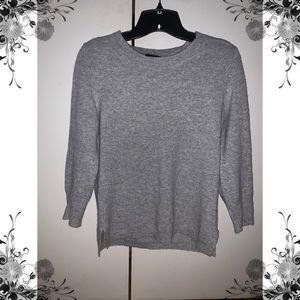 J.CREW 100% cashmere crew neck sweater